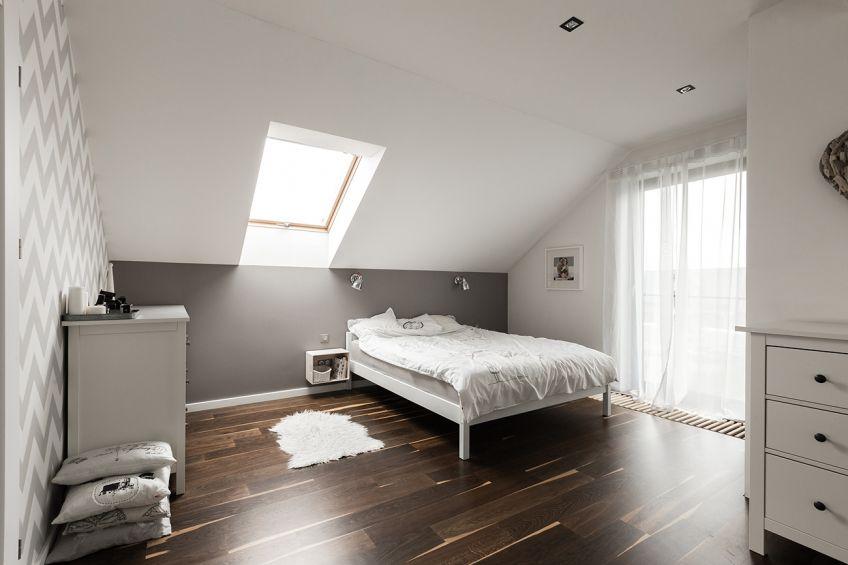 Im Dachgeschoss - Schlafzimmer